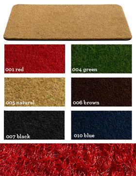 Fußmatte / Außenbereich / Coco crum (Neu)  / 50 cm x 80 cm / 005 naturel