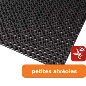 Oct-O-Flex / tapis en caoutchouc caillebotis